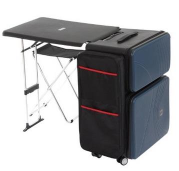 持ち運びできる事務所!? 一人会社の社長にバカウケのノマドスーツケース