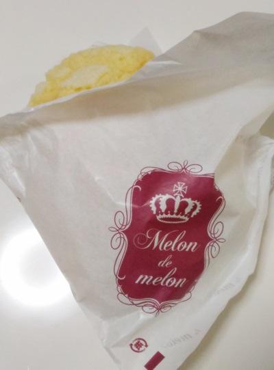 メロンパン 食べあるき